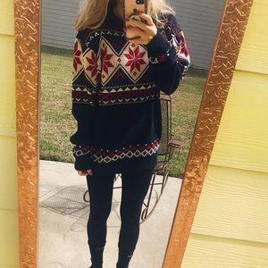 Alvina Woven Knit Sweater